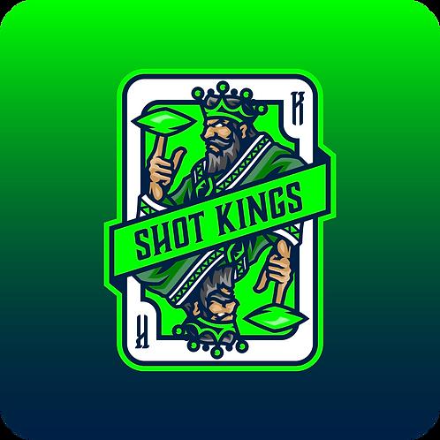 Shot Kings Cornhole Emerald Mist - By Reynolds Bags