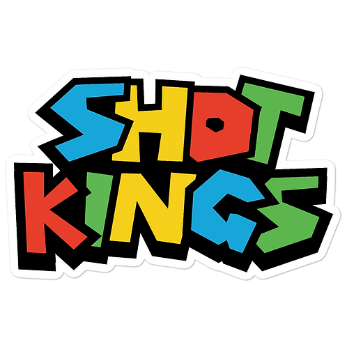 SHOT KINGS RETRO - Bubble-free stickers