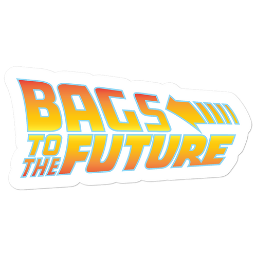 Bags to the Future - Bubble-free stickers