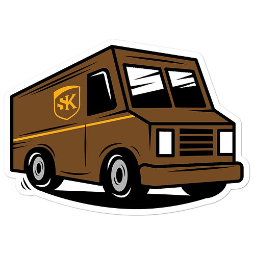 Shot Kings Cornhole UPS - Bubble-free stickers