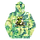 Thumbnail: Puff The Bagon Dragon Green Tye Dye - Unisex Hoodie