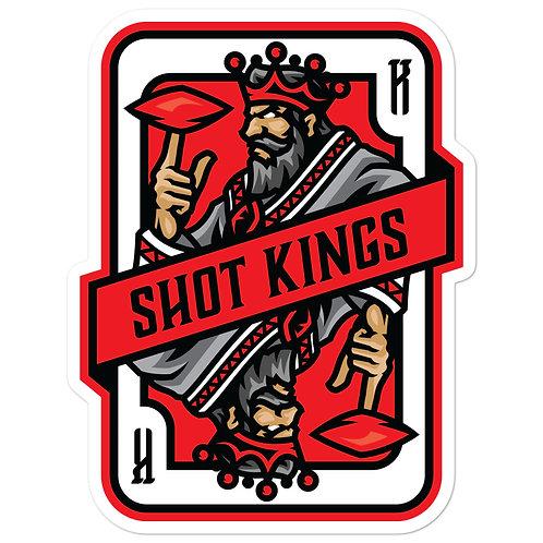 Shot Kings Cornhole Red Card - Bubble-free stickers