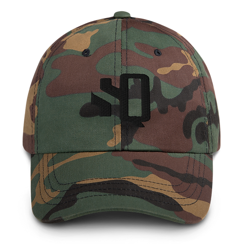 SQ Camo Mom hat