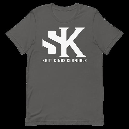 SK White Short-Sleeve Unisex T-Shirt