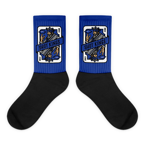 Shot Kings Cornhole Card Blue - Socks