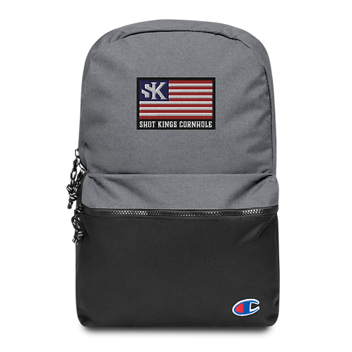 SK USA - Embroidered Champion Backpack