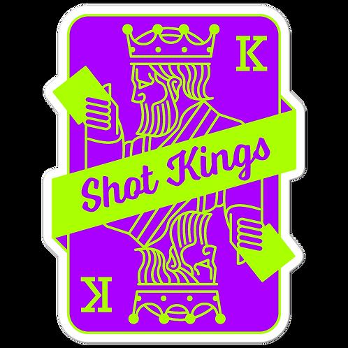 SK Neon Green and Purple - Bubble-free stickers