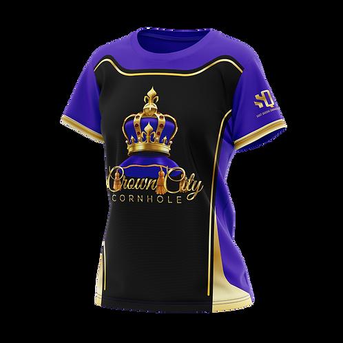 Shot Queens Cornhole - Crown City Cornhole Collaboration Jersey