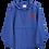 Thumbnail: Shot Kings Cornhole Red SK - Royal Blue Embroidered Champion Packable Jacket