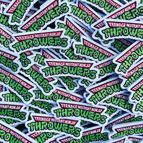 Ninja Throwers - Velcro Patch