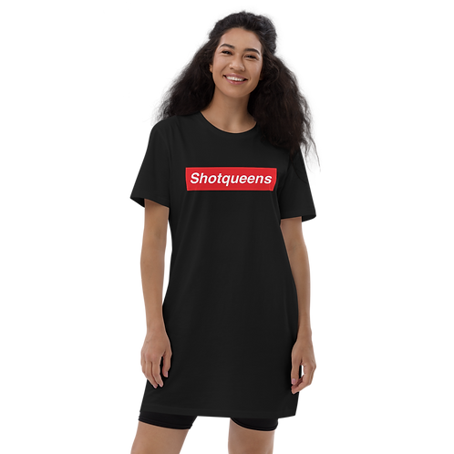 Shotpreme Queen - Organic cotton t-shirt dress