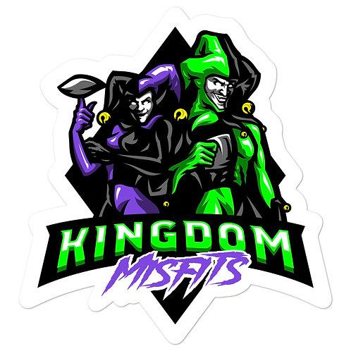 Kingdom Misfits Purple and Green - Bubble-free stickers