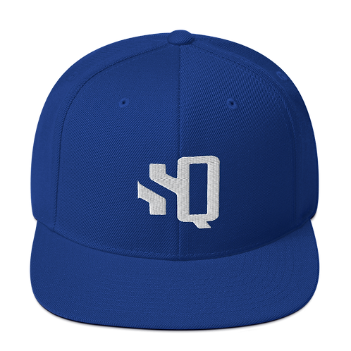 SQ Royal Blue - Snapback Hat