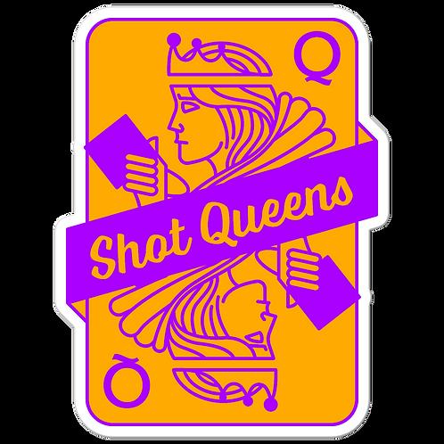 SQ Neon Purple and Orange - Bubble-free stickers