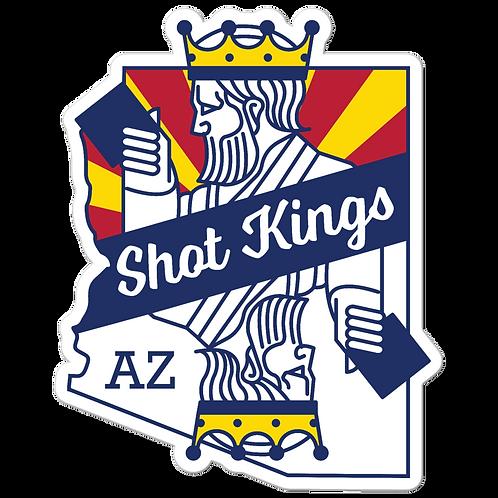 Shot King Arizona - Bubble-free stickers