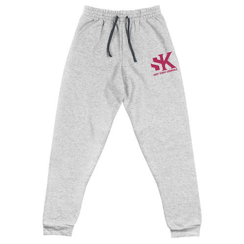 Shot Kings Cornhole Black Men's Unisex Joggers - Pink Thread