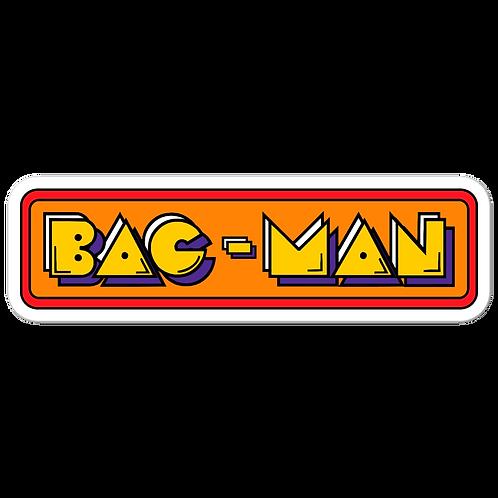BAG MAN RETRO - Bubble-free stickers