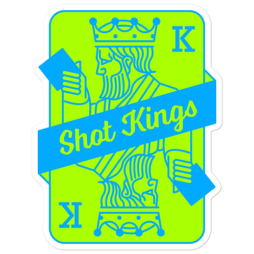 SK Neon Blue and Green - Bubble-free stickers