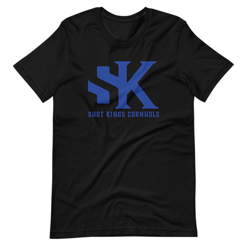 SK LOGO ROYAL BLUE - Short-Sleeve Unisex T-Shirt