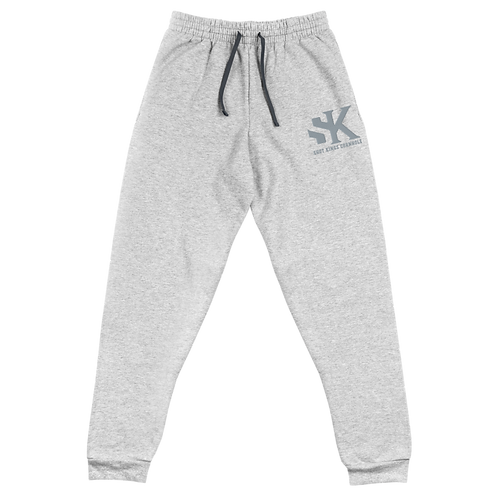 Shot Kings Cornhole Black Men's Unisex Joggers - Gray Thread