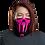 Thumbnail: Shot Kings Cornhole Pink Ninja - Neck Gaiter