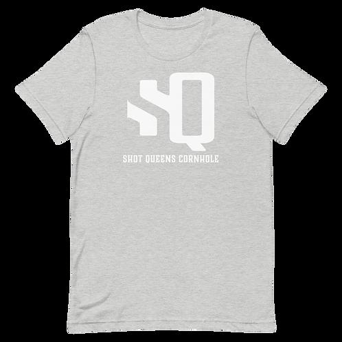 Shot Queen Ash Gray Short-Sleeve Unisex T-Shirt