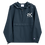 Thumbnail: Shot Kings Cornhole White SK Logo - Navy Embroidered Champion Packable Jacket