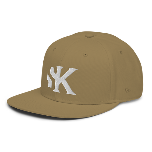 Shot Kings Cornhole SK Logo - Tan - New Era 9FIFTY Snapback