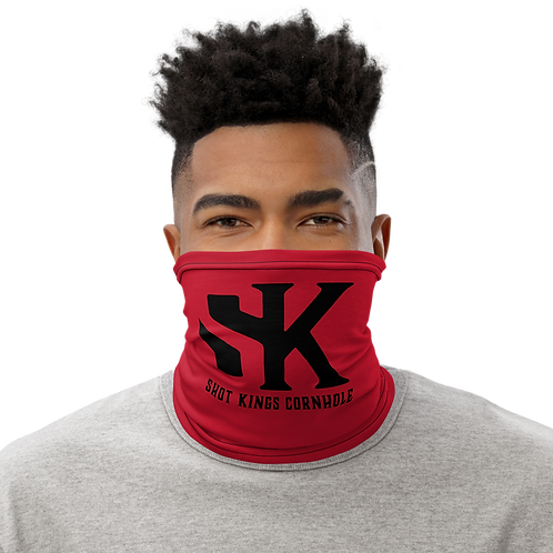 Shot Kings Red - Neck Gaiter