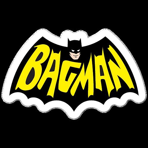 Bagman - Bubble-free stickers