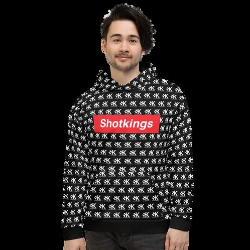 Shot Kings Cornhole Shotpreme  - Black Unisex Hoodie