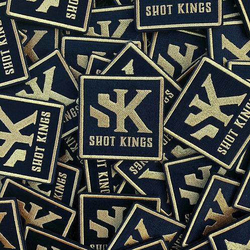 Shot Kings Cornhole SK Gold - XL PATCH