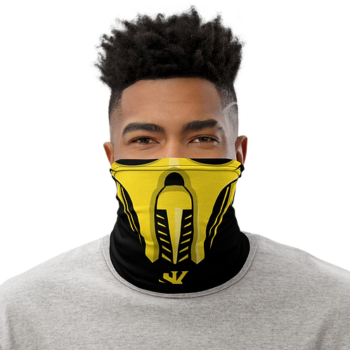 Shot Kings Cornhole Yellow Ninja Mask - Neck Gaiter