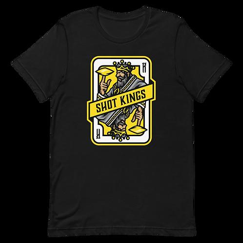 Shot King Card 2.0 - Yellow - Short-Sleeve Unisex T-Shirt
