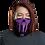 Thumbnail: Shot Kings Cornhole Purple Ninja - Neck Gaiter