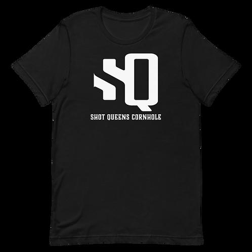 Shot Queen Black Short-Sleeve Unisex T-Shirt