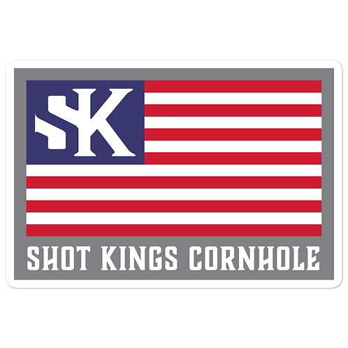SK USA FLAG - Bubble-free stickers