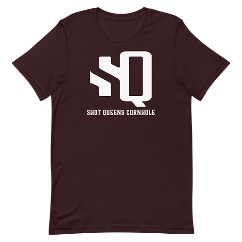 Shot Kings Oxblood Black Short-Sleeve Unisex T-Shirt