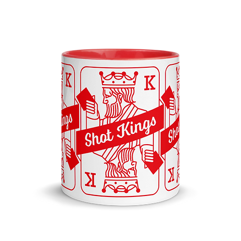 Shot Kings Red - Mug with Color Inside