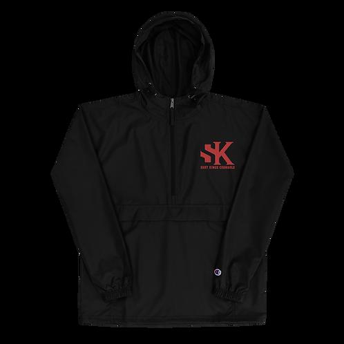 Champion  Shot Kings Cornhole Embroidered Champion Packable Jacket