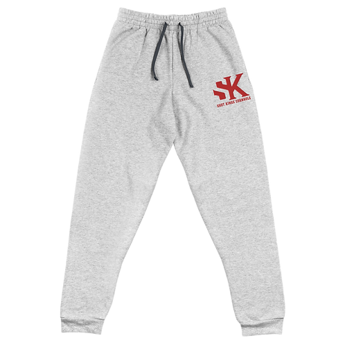 Shot Kings Cornhole Black Men's Unisex Joggers - Red Thread