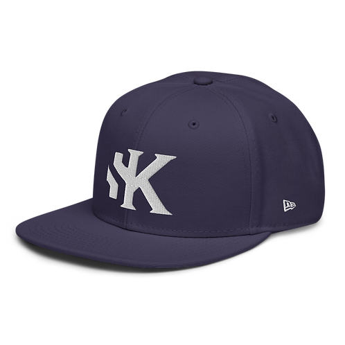Shot Kings Cornhole SK Logo - Navy - - New Era 9FIFTY Snapback