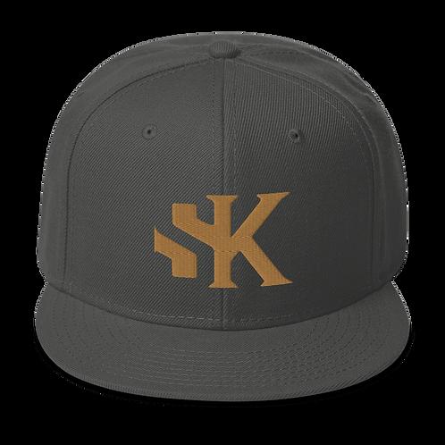 SK Gold Logo - Snapback Hat