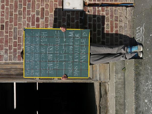 Tournage du film En l'Etat, vallée de l'Andelle, résidence Hsh