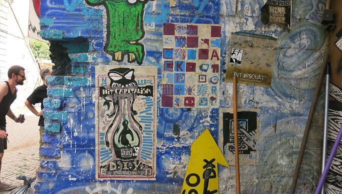 Restauration de l'Espace Visuel. Avec Hsh, Forte Prenestino, Crack Festival