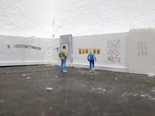 Masche. Avec Hsh à la Galerie Neurotitan à Berlin