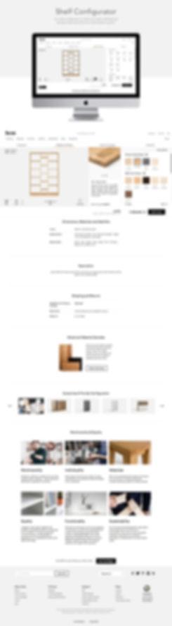 Hem shelf configurator