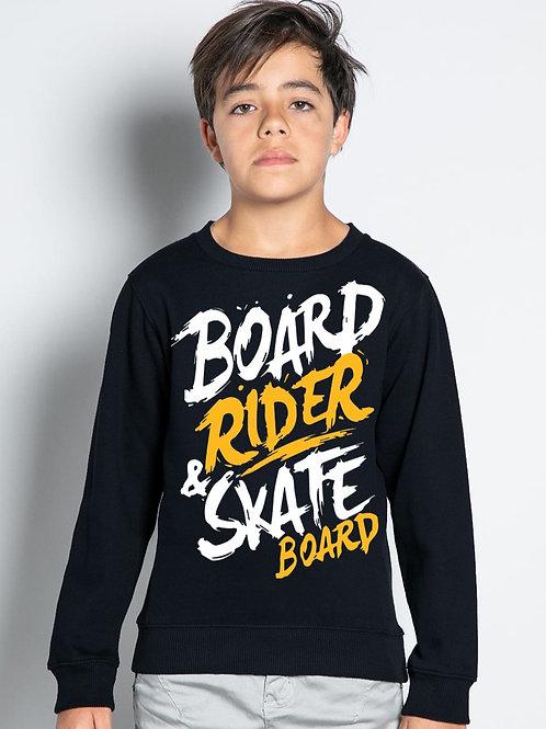 SweatShirt Board Boy Deep BLACK