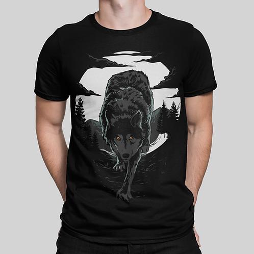 Wolf T-Shirt by BLACK HAZE