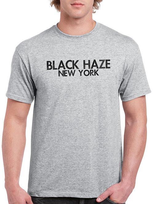 Basics Gray T-Shirt by BLACK HAZE